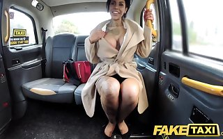 Fake Taxi Tattoos chunky juicy tits increased by long legs gets anal