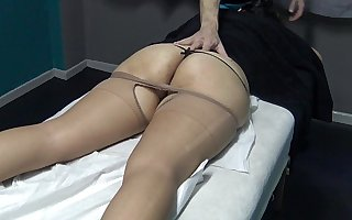 No Don't Fuck me i am Married ! Simply Fingering my Pussy if you want but i have Period ! Brazilian Milf said to his Masseur and watch what happen ! (This is transmitted to Trial Video)