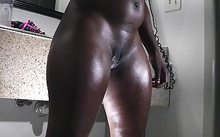 a heavy butt ebony gets keep a weather eye open for the fuck committee