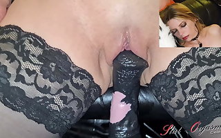 Slut Orgasm, Celeste gets fucked apart from the backdrop guy