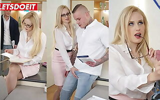 LETSDOEIT - (Angel Wicky & Andres) Perv Teacher Wants To Be crazy With Tattooed Student